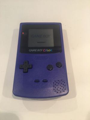Nintendo GameBoy Color in purple for Sale in Woodinville, WA