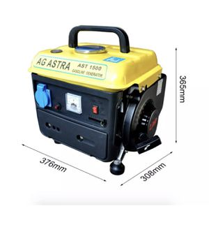 750W 220V Gasoline Generator Mini Power Supply 4L Fuel Tank Low Noise Portable for Sale in Perris, CA