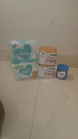 Similac Advance, Similac Pro Sensitive, Pampers baby, wipes for Sale in Burien, WA