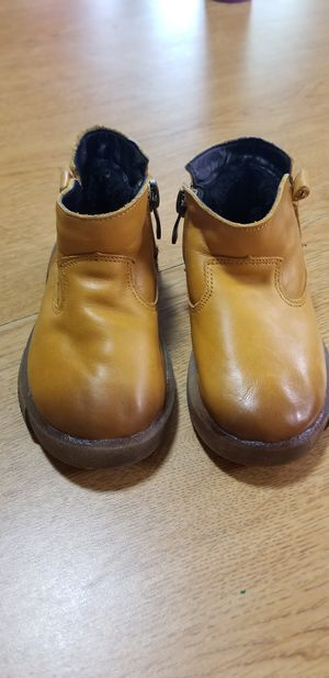 Leather Kids Toddler Boots Shoes Size 9 Boys/Girls for Sale in Garden City, MI