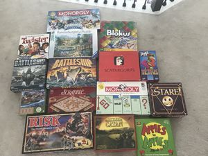 Board games and puzzles x2 for Sale in Houston, TX