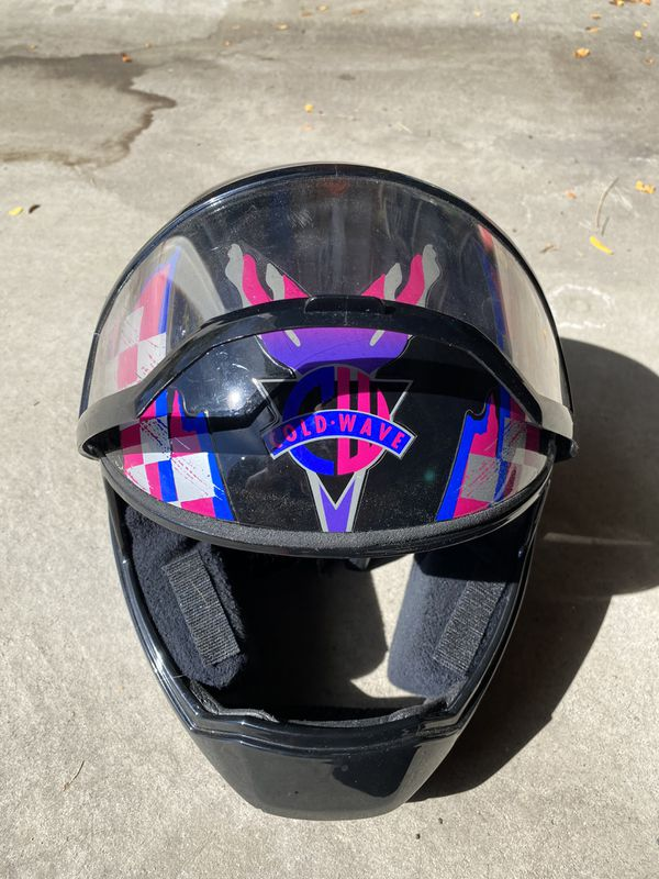 Used Snell M95 snow mobile helmet