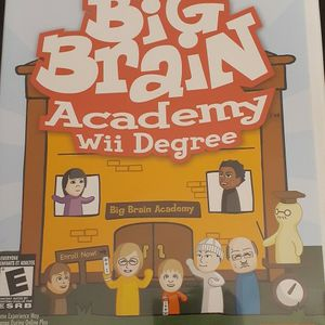 BIG BRAIN Academy Wii Degree (Nintendo Wii + WII U) for Sale in Lewisville, TX