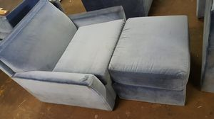 Very nice fold up chair you can turn it in to a bed super clean and excellent condition for Sale in Baltimore, MD