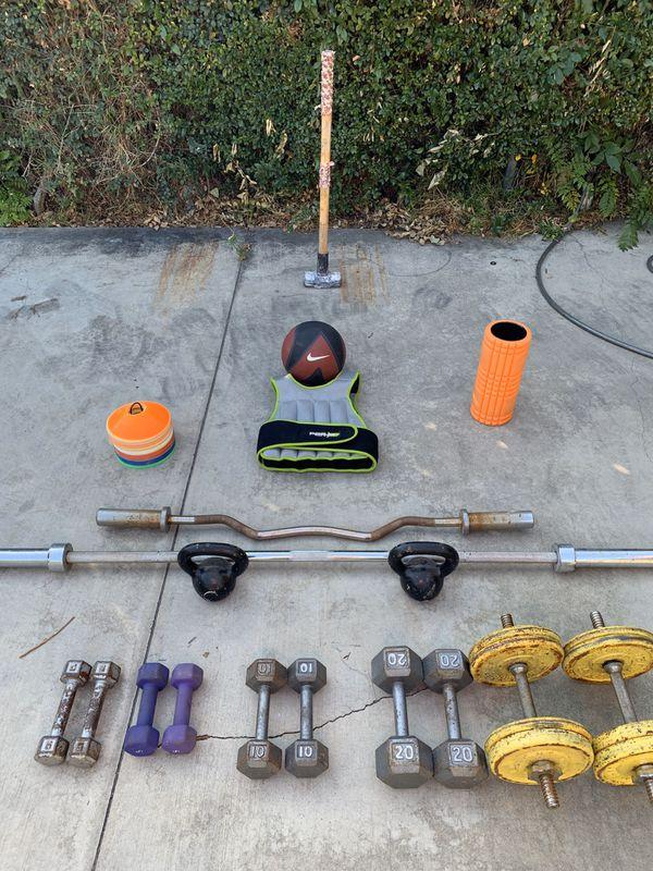General workout equipment!