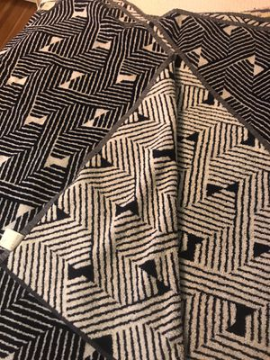 Set of two Crate and barrel beach/pool towels for Sale in Los Angeles, CA