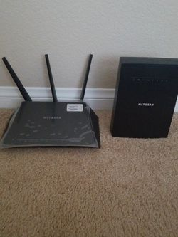 Nighthawk Router W/Nighthawk Mesh Extender for Sale in Ontario,  CA