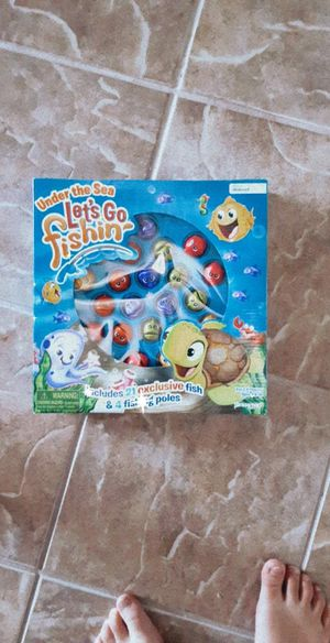 Brand New Under the Sea Fishing Game for Sale in Elk Grove, CA