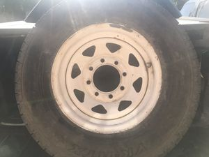 1 New - 215/85R16 10 ply trailer tire and wheel for Sale in Glendale, AZ