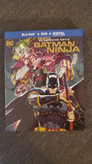 Batman ninja Blu Ray and dvd animated movie for Sale in Los Angeles, CA