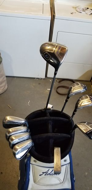 Complete golf set drive,hybrids irons, putter bag for Sale in Riverside, CA