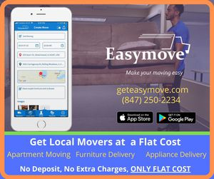 Patio Furniture,sofa,washer delivery with Easymove for Sale in Chicago, IL