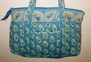 Vera Bradley tote bag purse Bermuda Blue Miller Top Zipper for Sale in Melbourne, FL