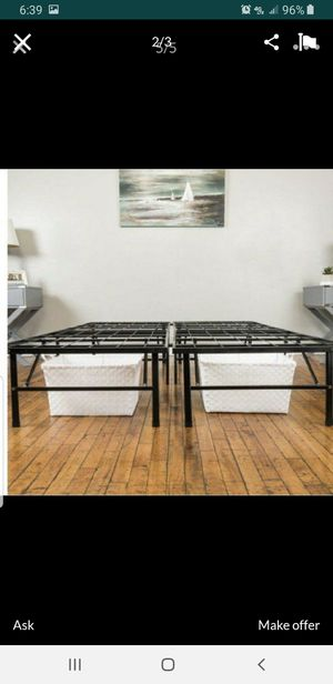 Bed Frame Set. Foldable. Twin Size. Cama Personal for Sale in Miami, FL