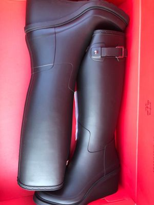 Hunter Refined Tall Original Wedge Boots for Sale in Rockville, MD