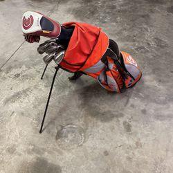 Golf Bag Full Set Of Clubs And Gold Balls for Sale in Garner,  NC