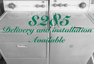 Estate Washer & Dryer Set for Sale in Winter Park, FL