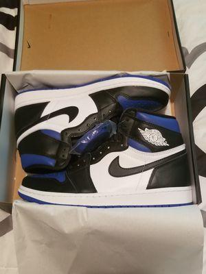 New Jordan 1 Retro Royal Toe size 9.5 for Sale in Philadelphia, PA
