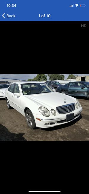 Parts available for 2003-2009 Mercedes e320 E500 e350 for Sale in Daly City, CA