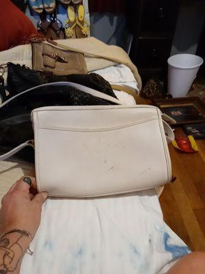 Coach White handbag has scratches for Sale in Wichita, KS