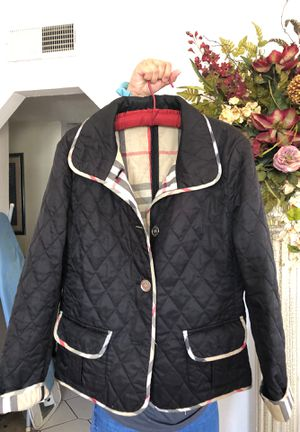 Burberry size large jacket for Sale in Socorro, TX