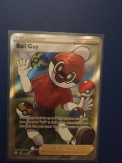 Pokemon Trainer Card Ball Guy for Sale in Beaverton,  OR