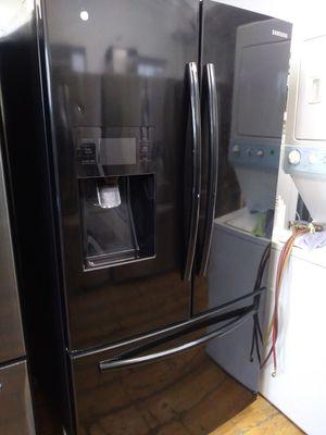 BLACK FRIDGE 3 DOOR for Sale in Fullerton, CA