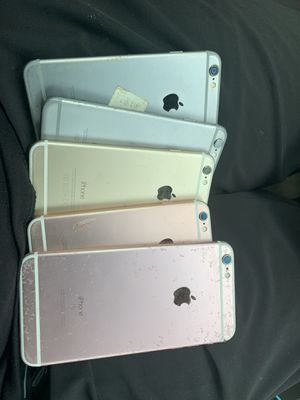 5 iPhones broken screen 1 water damage make an offer for Sale in St. Petersburg, FL