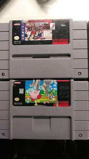 Super Nintendo Games for Sale in Parker, CO