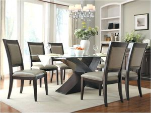 7-pcs dining table on sale @Elegant Furniture 🎈🛋 for Sale in Fresno, CA