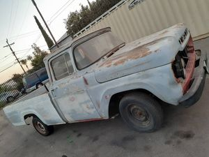 1959 FORD F100 PROJECT! LONGBED!! 292/3 SPD!! VERY SOLID! 1600$ for Sale in Gardena, CA