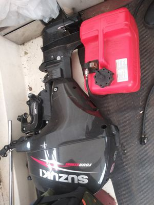 Suzuki 9.9 hp outboard motor for Sale in Portland, OR