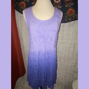 Raya Sun small purple boho beach sun tank dress for Sale in Philadelphia, PA