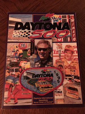 Daytona 500 magazine with patch and Rusty Wallace race card for Sale in Parkersburg, WV