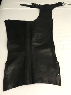 "Motorcycle chaps - adjustable waist 32"" length for Sale in Houston, TX"