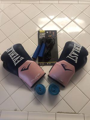 Brand new women's boxing gloves / jump rope for Sale in Las Vegas, NV