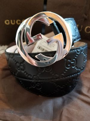 😎NWT Gucci Belt Black Guccissima Supreme GG for Sale in Queens, NY