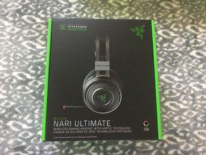 Razer Nari Ultimate Wireless Gaming Headset for Sale in Santa Maria, CA