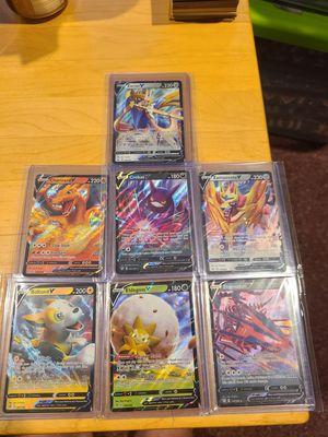 Rare pokemon v lot for Sale in Townsend, MA
