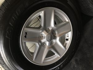 Jeep gladiator sport stock tires and wheel for Sale in Orlando, FL
