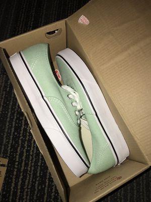 Vans Authentic Mint Green Shoes for Sale in Tempe, AZ