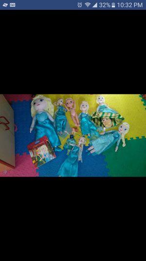 Disney Frozen Doll lot Elsa & Ana for Sale in Virginia Beach, VA