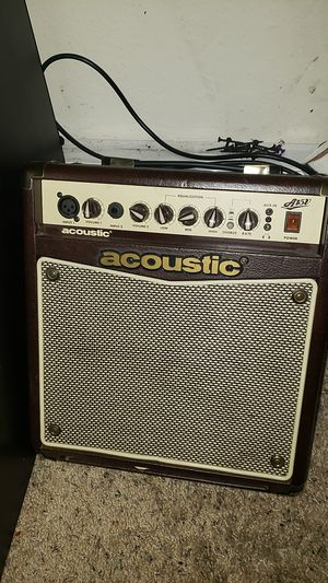 Acoustic speaker for guitar for Sale in Seattle, WA