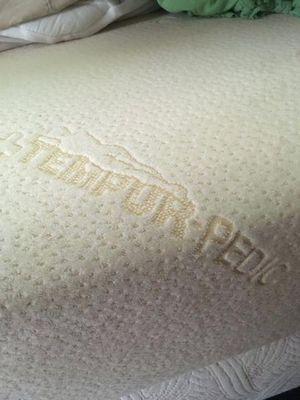 Queen Tempurpedic mattress + box spring for Sale in Portland, OR