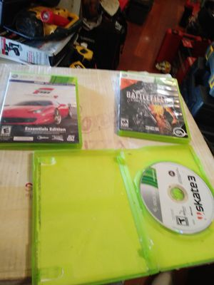 4. XBOX 360 GAMES I ALSO HAVE TONY HAWK GAME & SKATE BOARD for Sale in Columbus, OH