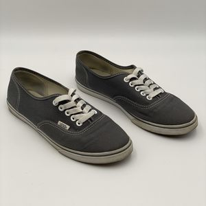 Vans Gray Canvas Sneakers (Size M6.5/W8) for Sale in Orlando, FL