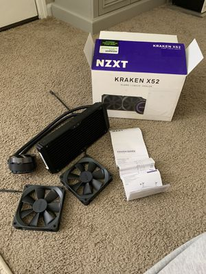 NZXT Kraken X52 240mm liquid cooler for Sale in Cape Girardeau, MO