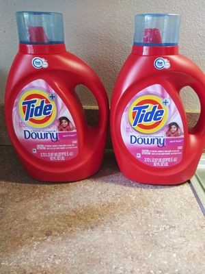 Tide con downy de 92oz $9 each for Sale in Winter Haven, FL