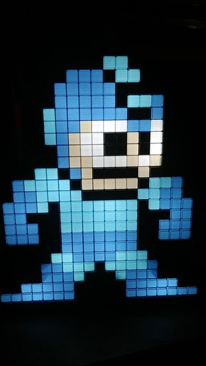 Megaman bright pixel light for Sale in Tampa, FL