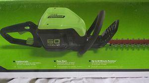 60v greenworks trimmer for Sale in Lake Jackson, TX